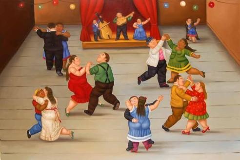 Sala da ballo, Botero