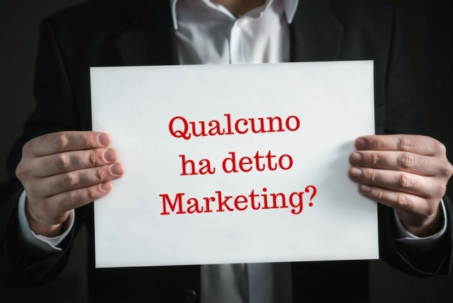 Qualcuno ha dettoMarketing-